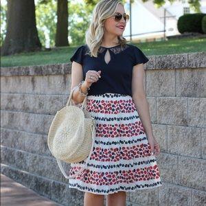 🍇🍓J.CREW🍇🍓 bunch of berries skirt